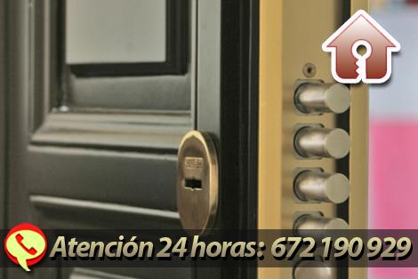 puertas blindadas y acorazadas Zaragoza